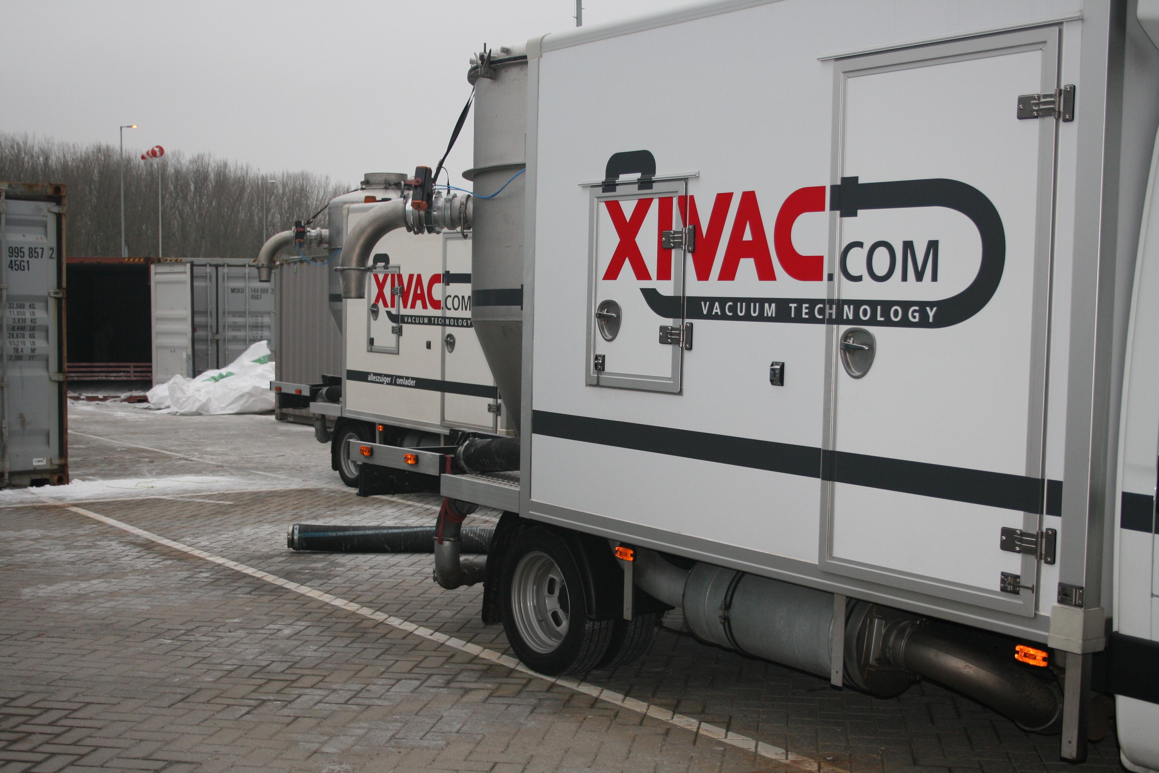 wagens klaar voor gebruik vacuumwagen
